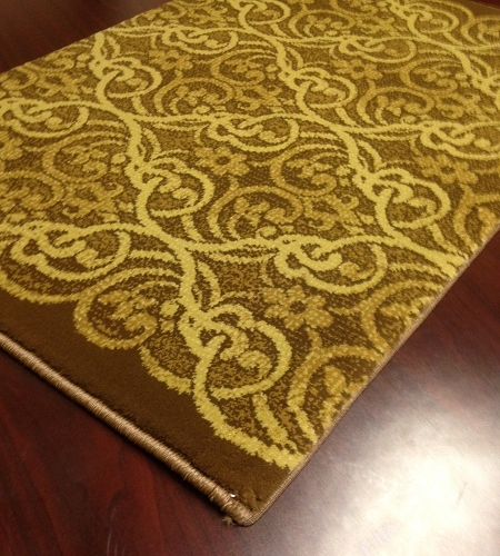 Hereke Masquerade 23130 Bronze Carpet Stair Runner