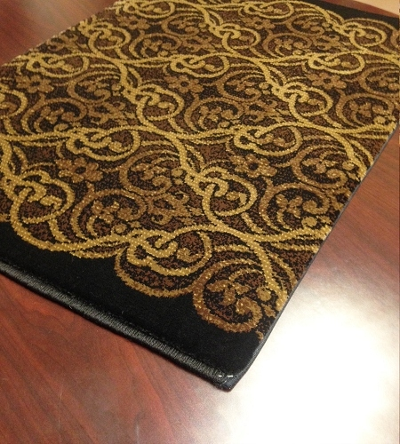 Hereke Masquerade 23133 Caviar Carpet Stair Runner