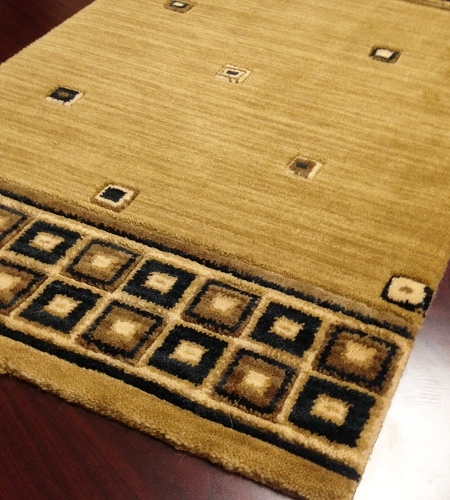 Metropolis ME01 Camel Carpet Stair Runner