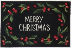 Momeni-Merry Christmas Scatter Rug - 2 x 3 Size