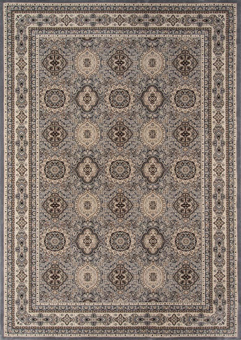 Momeni royal ry 01 grey rug for Momeni rugs