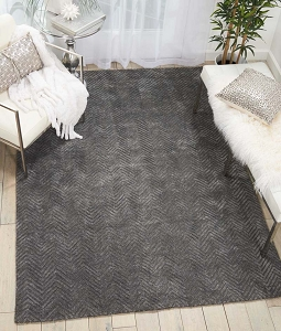 Nourison Deco Mod DEC03 Grey Rug