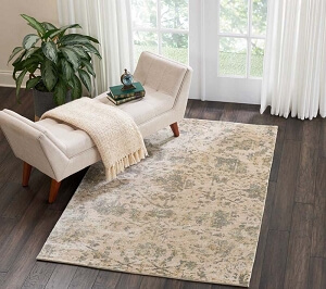 Nourison Lucent LCN05 Pearl Rug