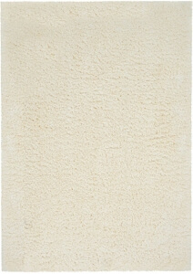 Nourison Luxe Shag LXS01 Ivory Rug