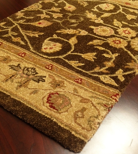 Patina PA03 Brown Carpet Hallway and Stair Runner - 30