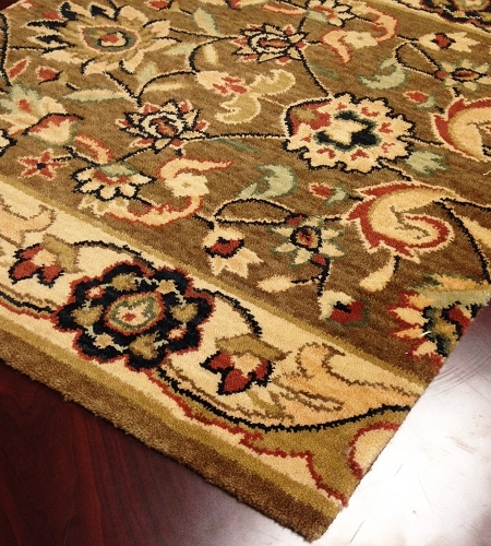 Persian Dream PD01 Brown Carpet Stair Runner
