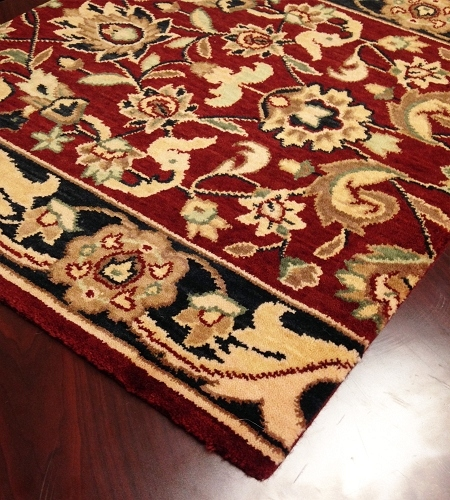 Persian Dream PD01 Burgundy Carpet Hallway and Stair Runner - 30