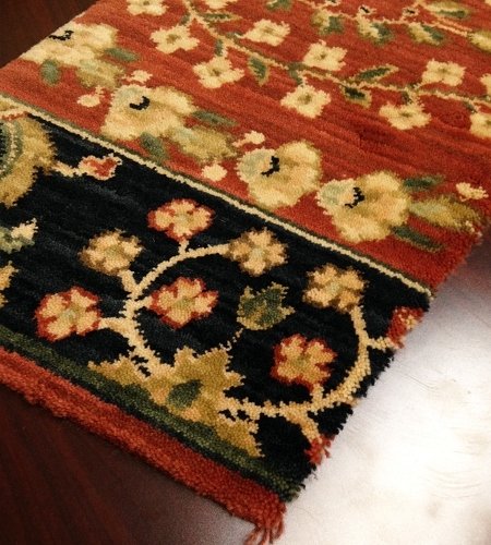 Persian Dream PD02 Rust Carpet Hallway and Stair Runner - 30