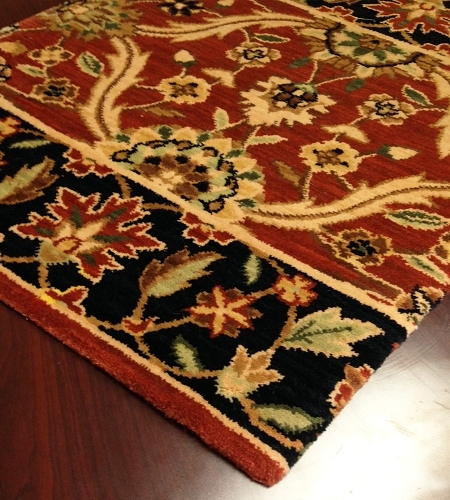 Persian Dream PD03 Rust Carpet Hallway and Stair Runner - 30