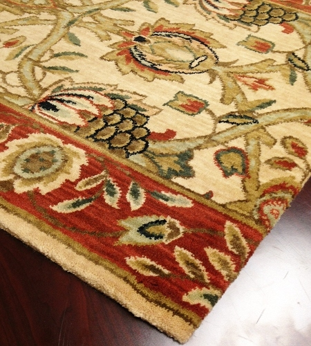 Persian Dream PD04 Beige Carpet Hallway and Stair Runner - 30