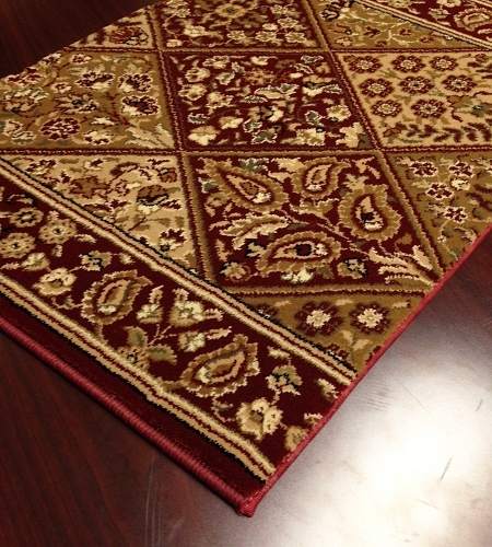 Persian Garden CB39/0002a Red Carpet Stair Runner