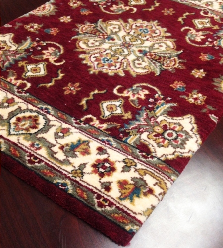 Palace Garden PG-01 Burgundy Carpet Stair Runner