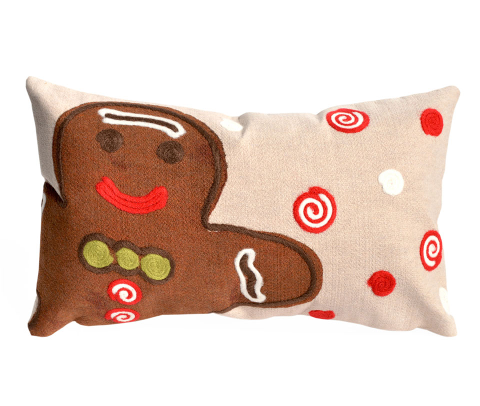 TransOcean Ginger Boy Brown Pillow