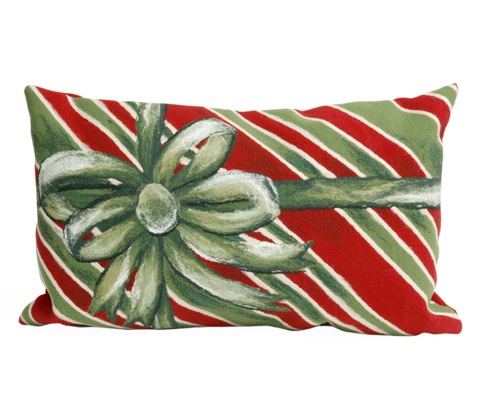 TransOcean Gift Box Green Pillow