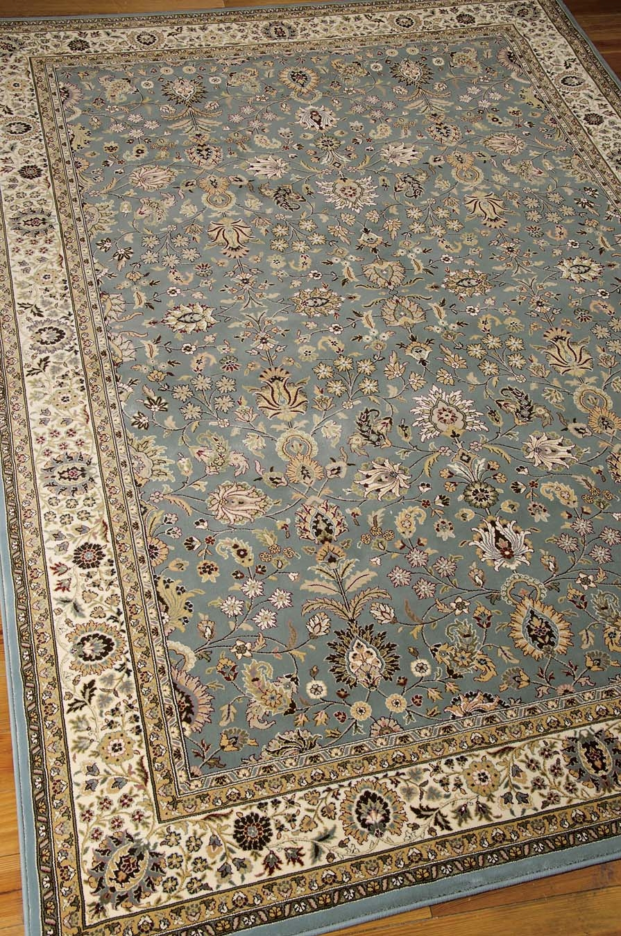 Nourison KI11 Antiquities ANT04 Slate Blue Rug