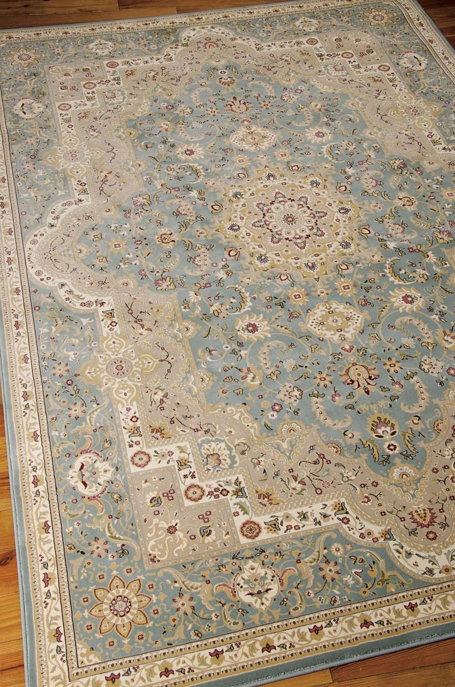 Nourison KI11 Antiquities ANT06 Slate Blue Rug