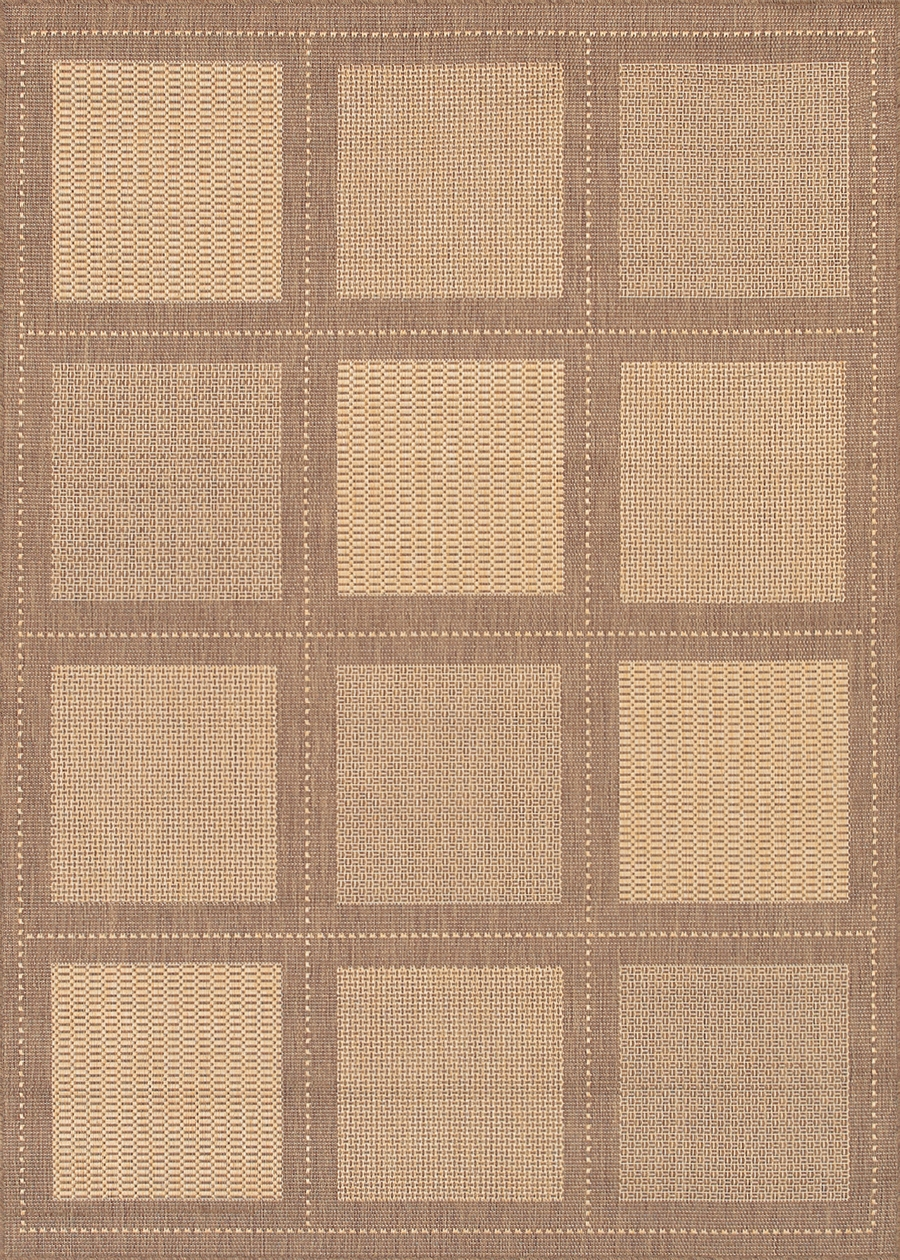 Recife Collection by Couristan: Summit Natural Cocoa 1043/3000 Recife Outdoor Rug by Couristan