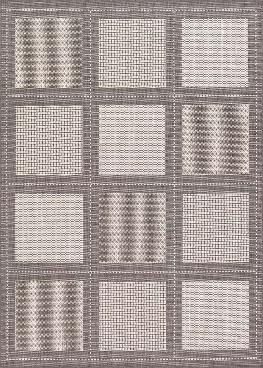 Couristan Recife 1043/3012 Summit Grey/White Rug