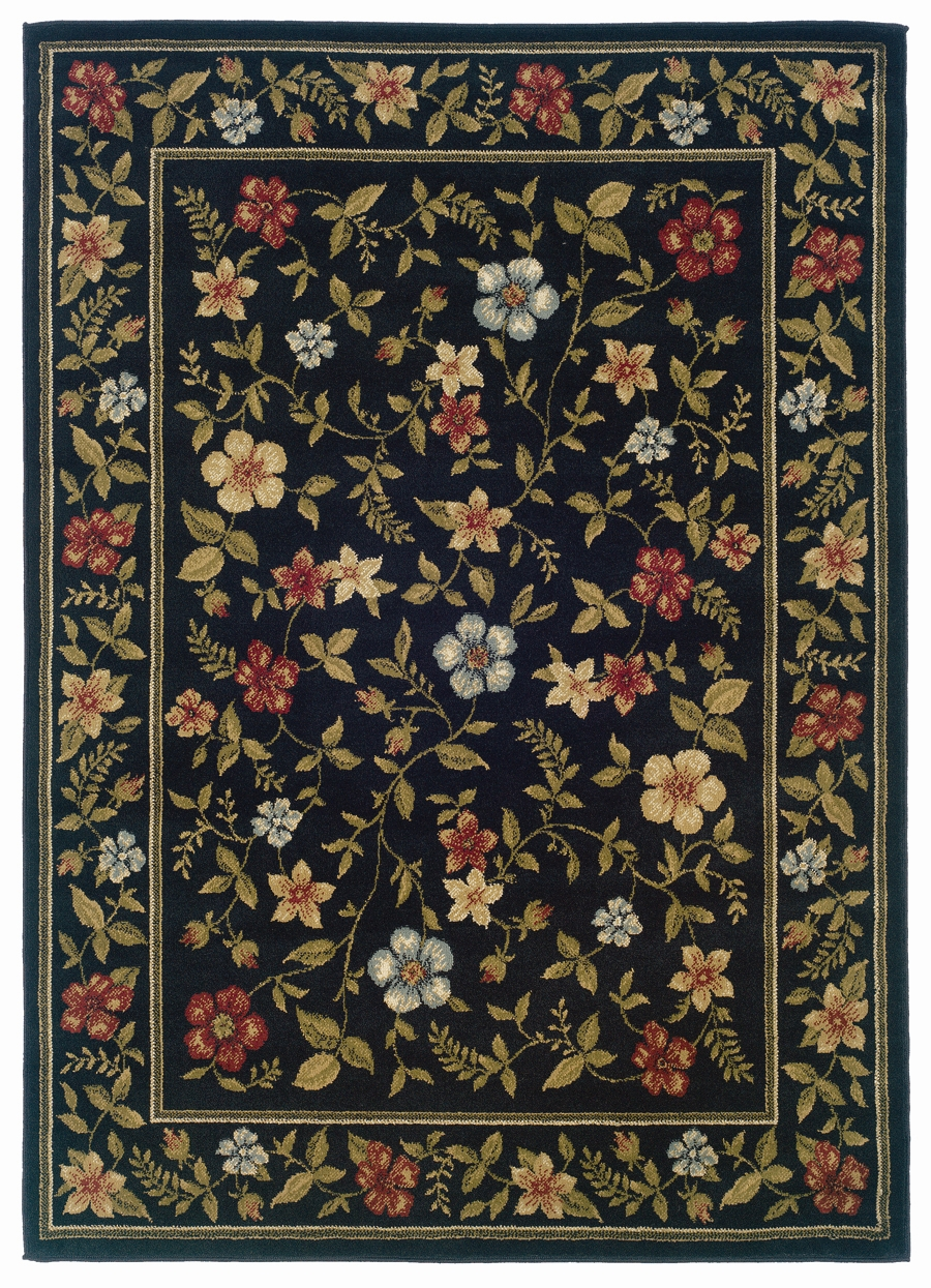 Brady 1196d Black Rug by Sphinx