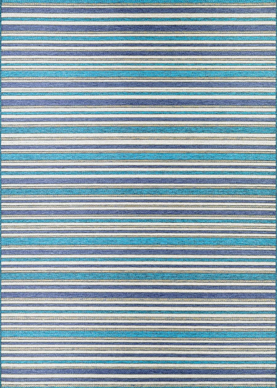 Couristan Cape 1403/0002 Brockton Cobalt/Teal Rug