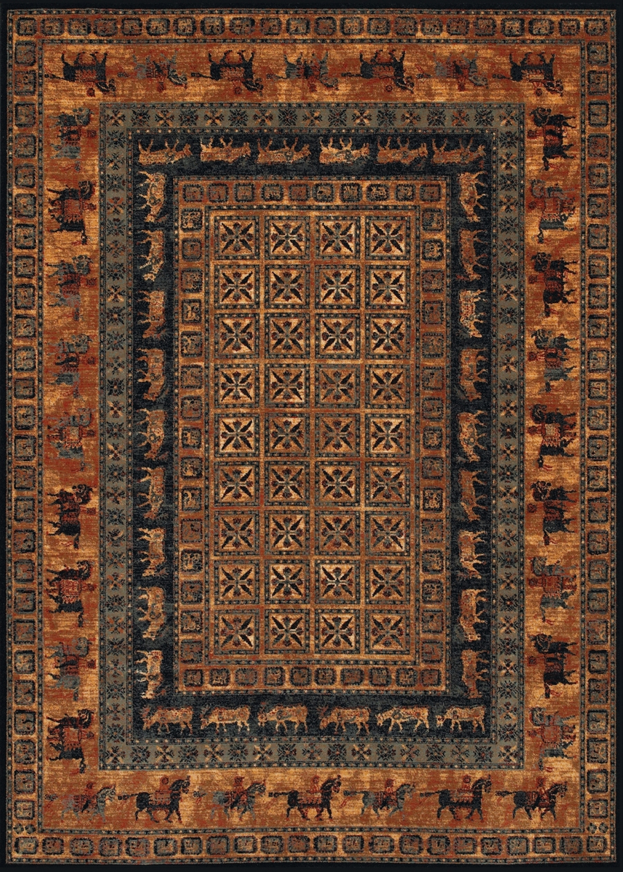 Pazyrk Burnished Rust 1660/3066 Old World Classics Rug by Couristan