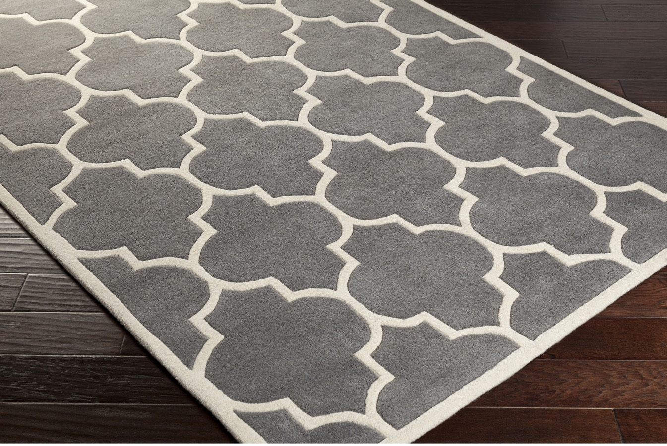 Grey And White Carpet Runner: Artistic Weavers Transit Piper AWHE2017 Grey/White Area Rug