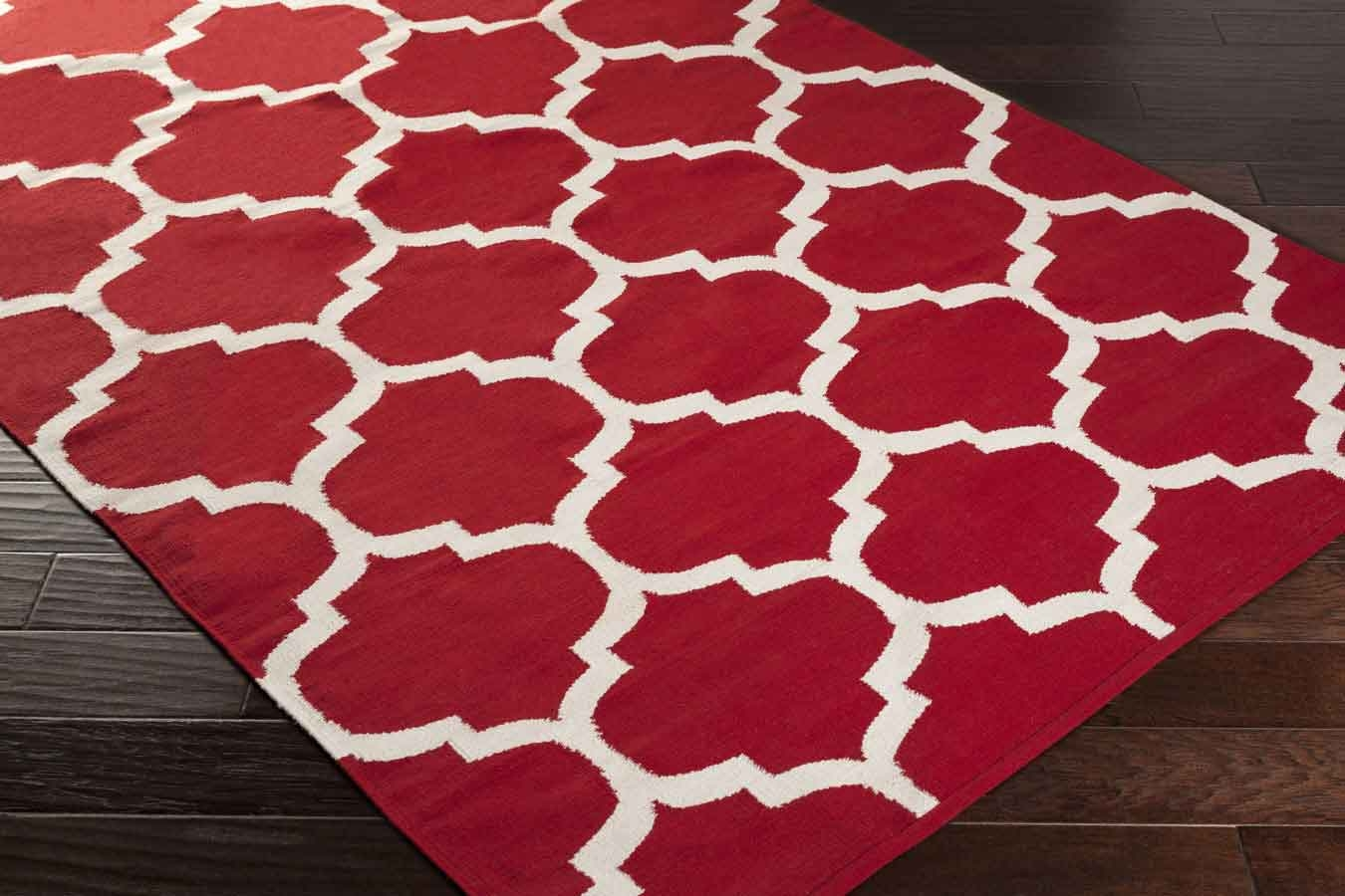 red area rug artistic weavers vogue everly awlt3002 white area rug 13188