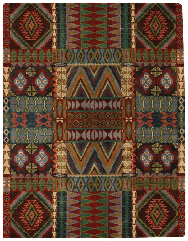 Multitone Big Horn Rug by Capel