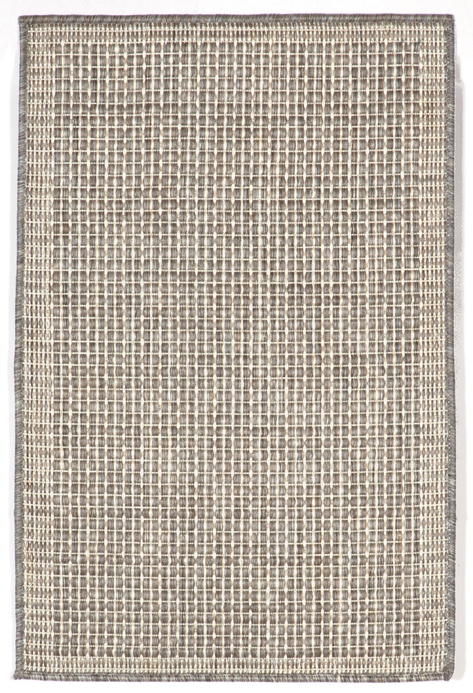 Trans-Ocean Terrace 1762/58 Texture Silver/Ivory Rug