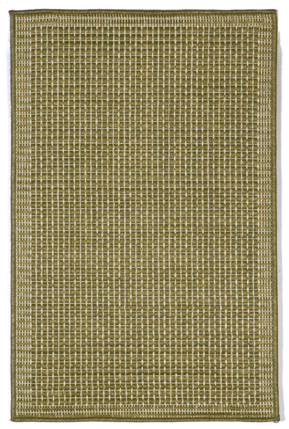 Trans-Ocean Terrace 1762/66 Texture Green/Ivory Rug