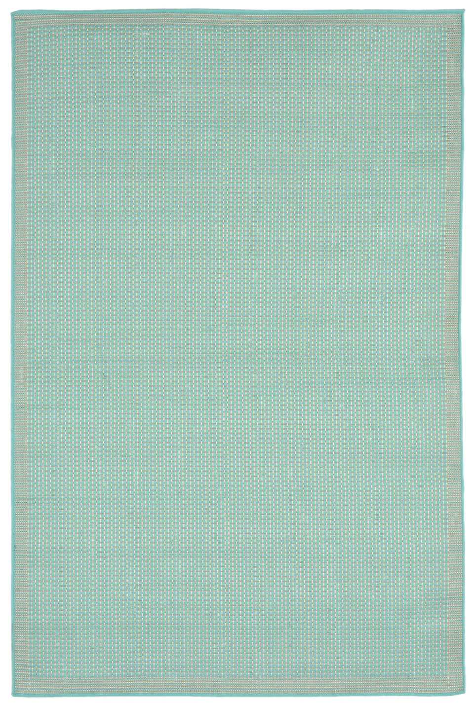 Transocean Terrace 1762/93 Texture Turquoise Rug