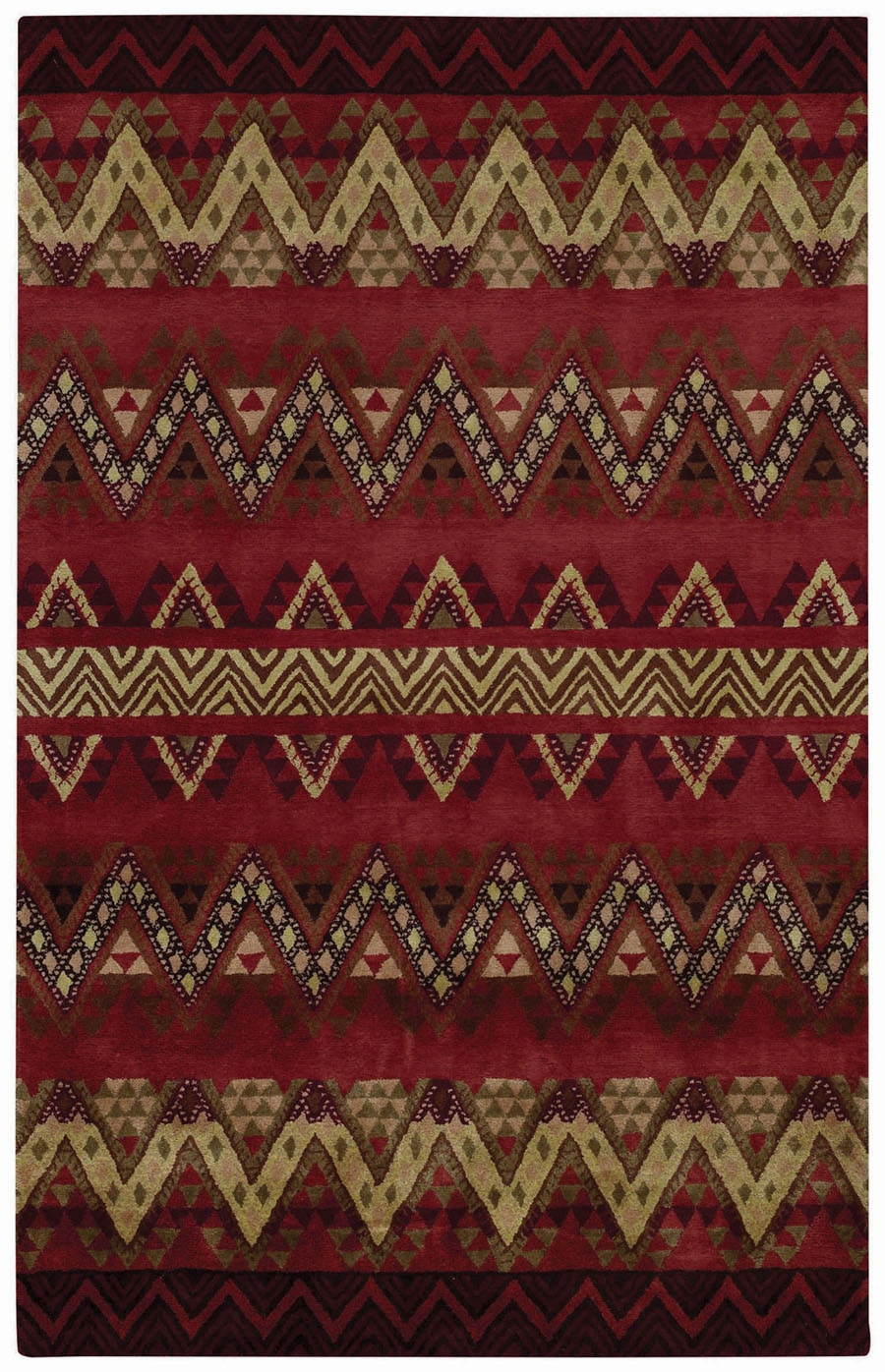 Capel Fort Apache 3057 500 Persimmon Rug