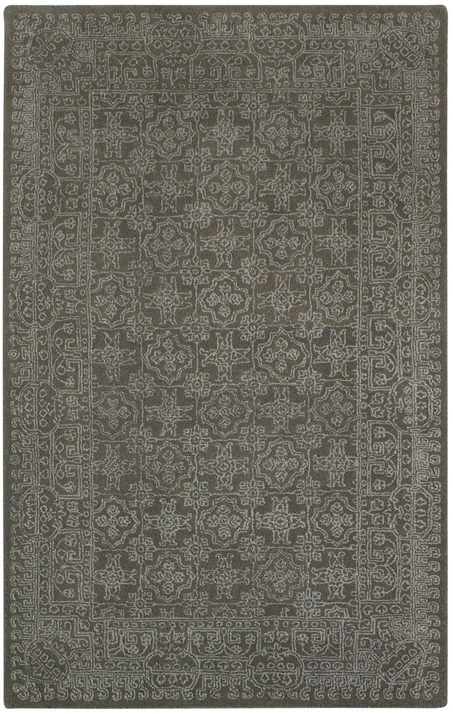 Capel Interlace 9243 730 Coal Rug