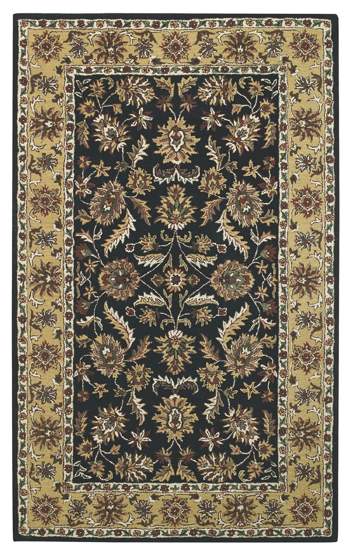 Capel Kingship 3031 310 Black Gold Rug
