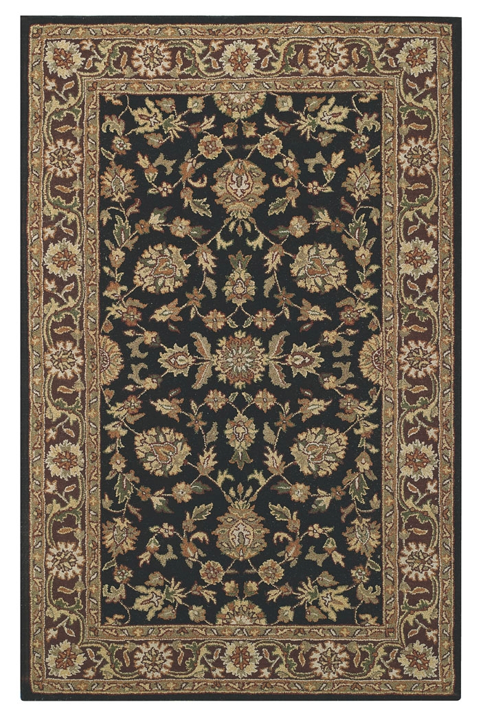 Capel Kingship 3031 370 Black Brown Rug