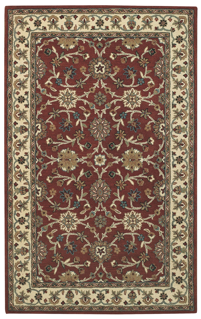 Capel Kingship 3031 560 Red Ivory Rug