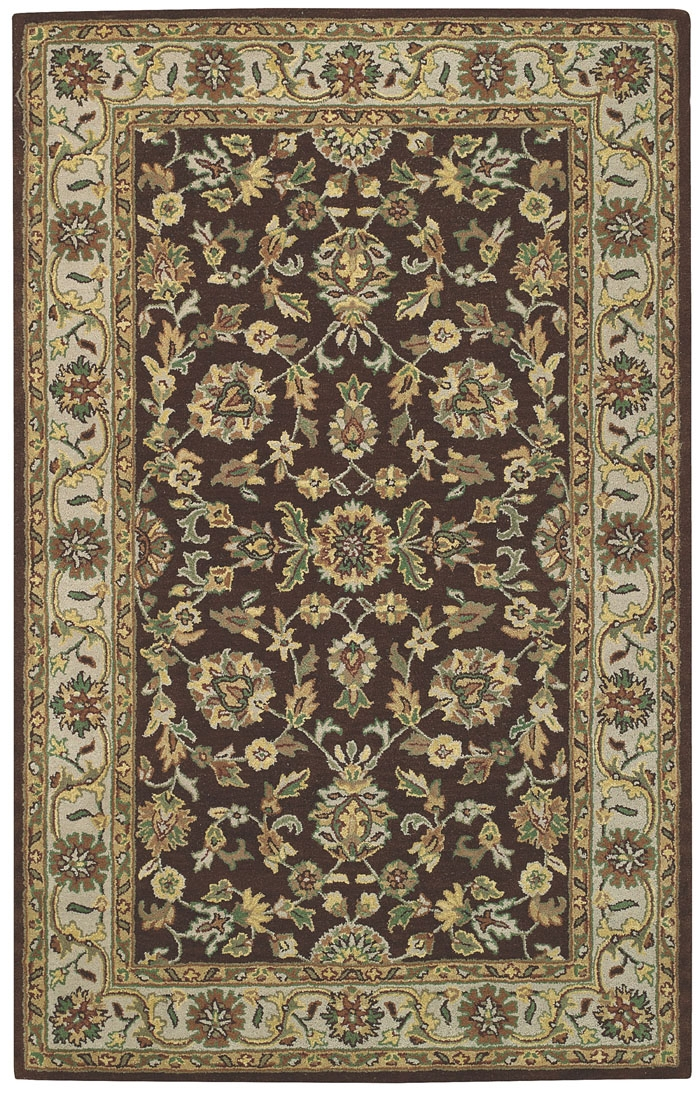 Capel Kingship 3031 770 Dark Brown Sage Rug