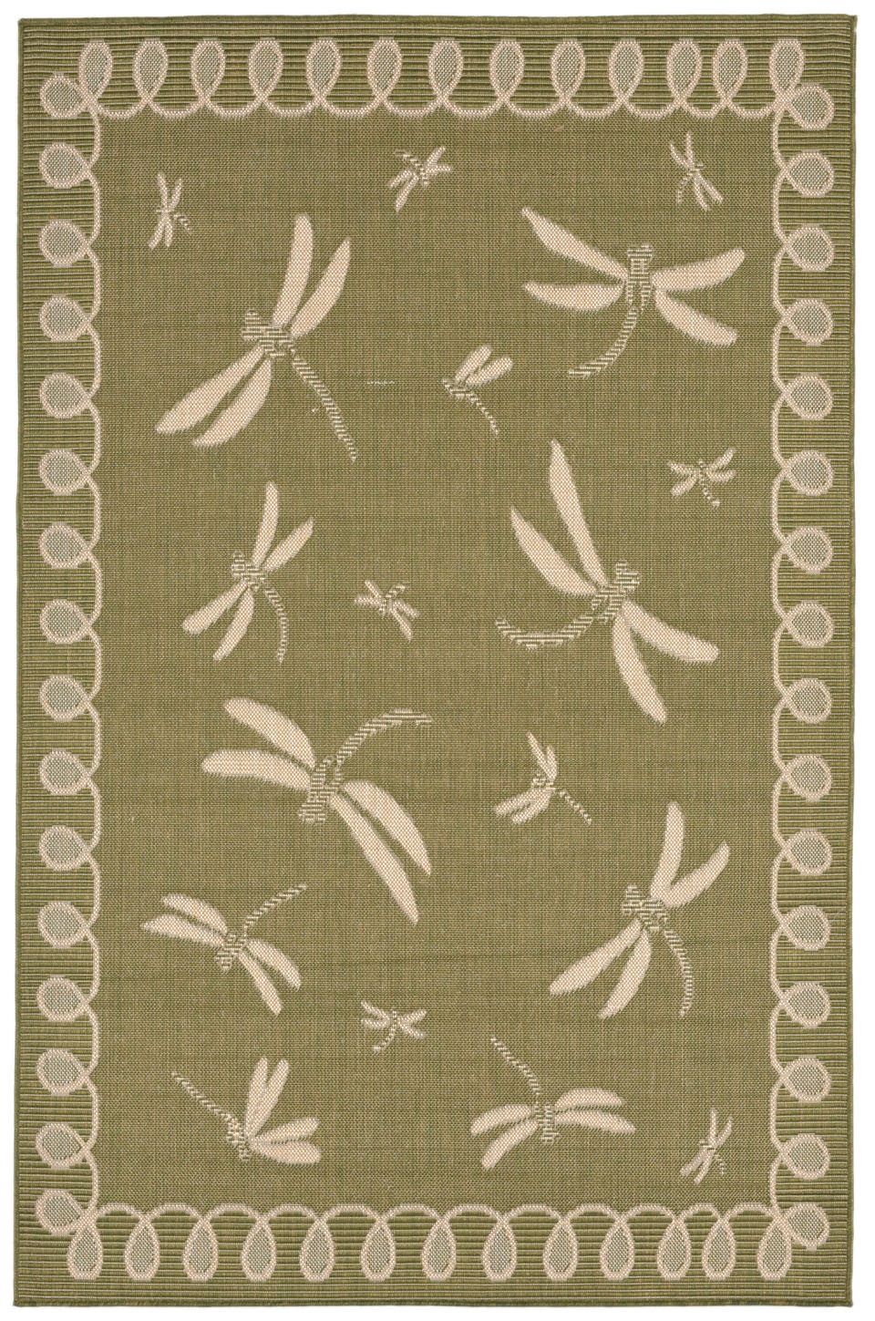 Transocean Terrace 1791/76 Dragonfly Green Rug