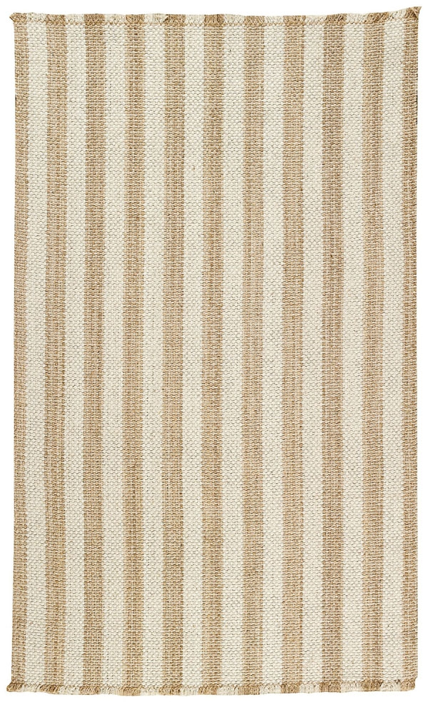 Tan White Nags Head Rug by Capel