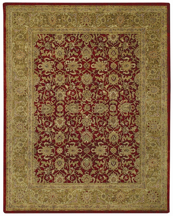 Meshed Red Orinda Rug by Capel