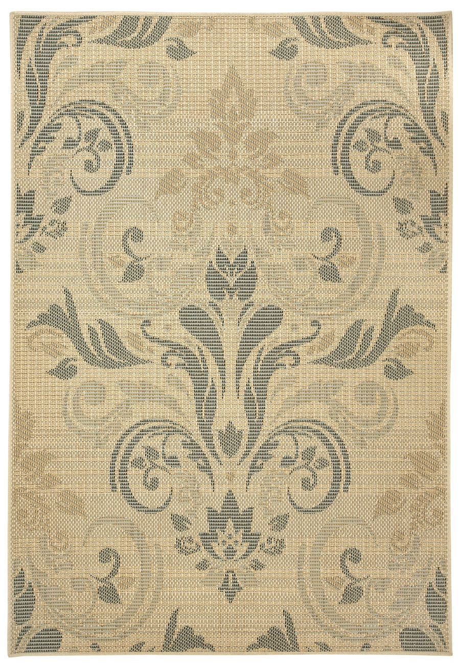 Capel Portia Damask 5879 130 Blonde Rug