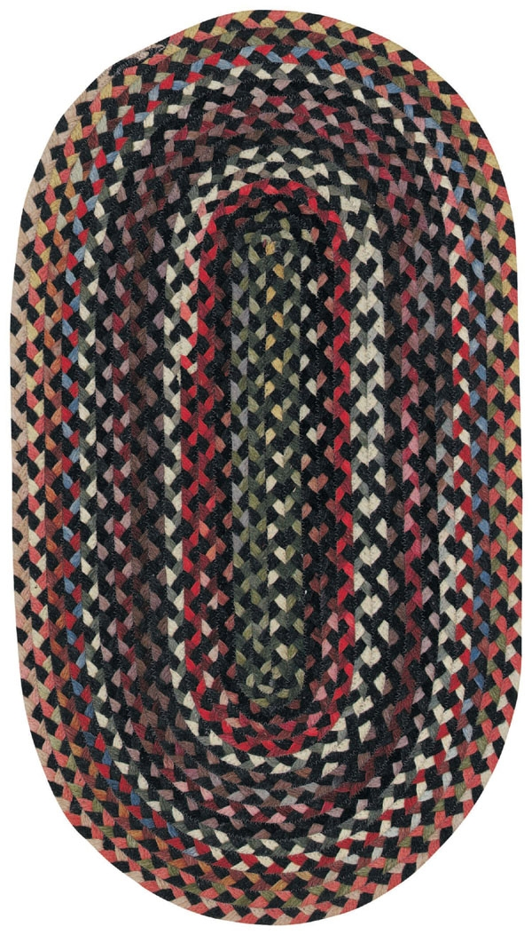 Darkest Black St Johnsbury Rug by Capel