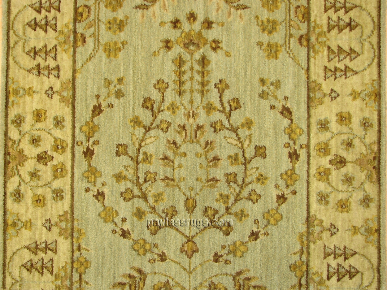 Persian Dream PD02 Light Green Carpet Stair Runner