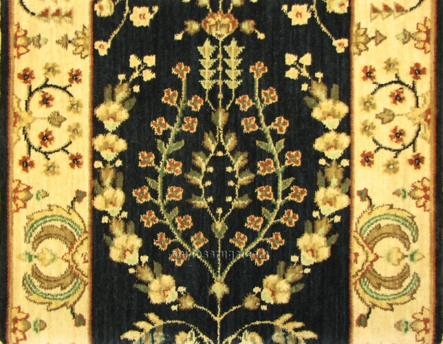 Persian Dream PD02 Midnight Carpet Hallway and Stair Runner - 30