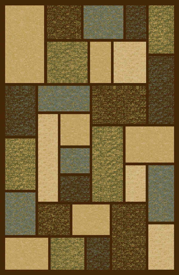 Keswick 8800Bw Brown Rug By Interlude