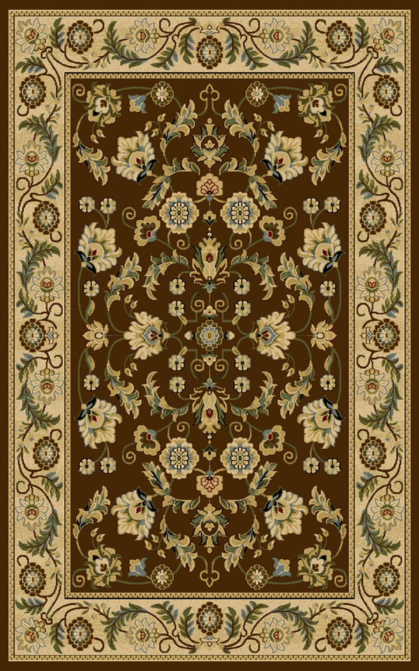 Cambridge 8805Bw Brown Rug By Interlude