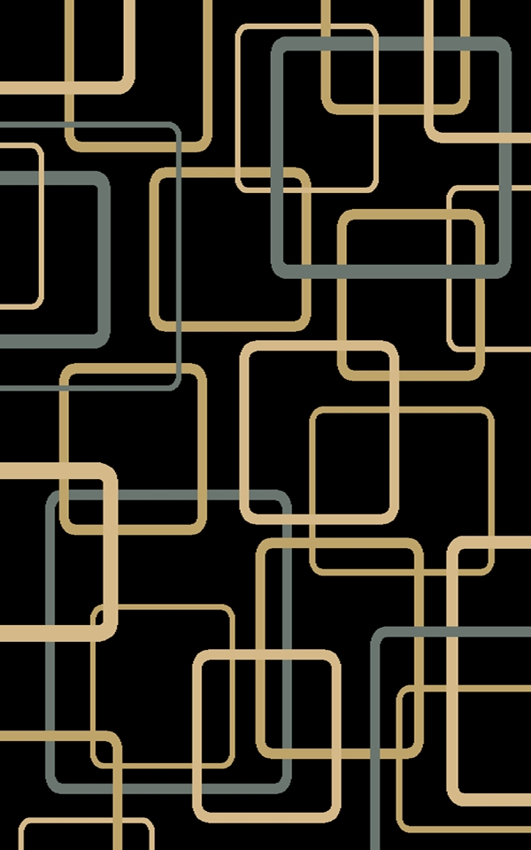 Circuitry 8807Bk Black Rug By Interlude