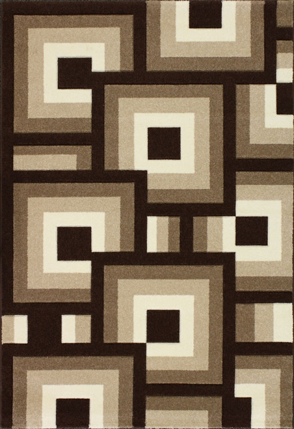 Blocks 1525.51 Brown/Beige Rug By Oasis