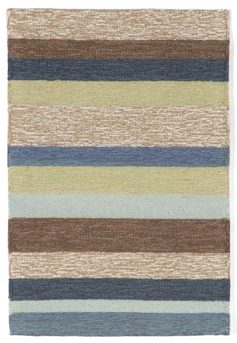 Ravella Stripe 1900/33 Denim Rug by Trans-Ocean