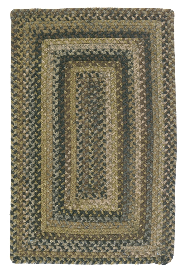 RV-60 Grecian Green Ridgevale Rug by Colonial Mills